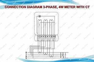 Meter Wiring Diagrams For Ct Rated Meters