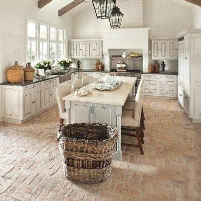 brick paver kitchen floor кирпичами пол вымощен f l a s h d e c o r 4888