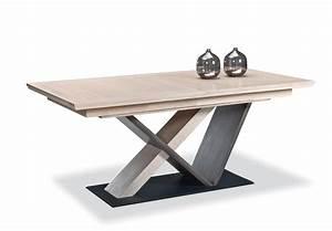 Pied De Table A Manger : salle a manger portland ateliers de langres meubles gibaud ~ Teatrodelosmanantiales.com Idées de Décoration