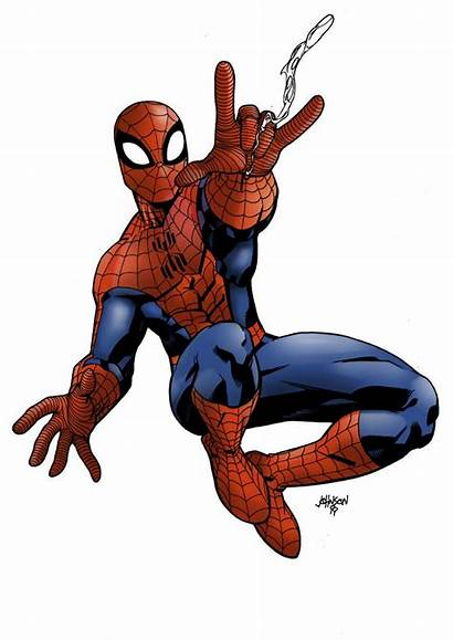 Spiderman Comic Amazing Spider Marvel Drawings Comics