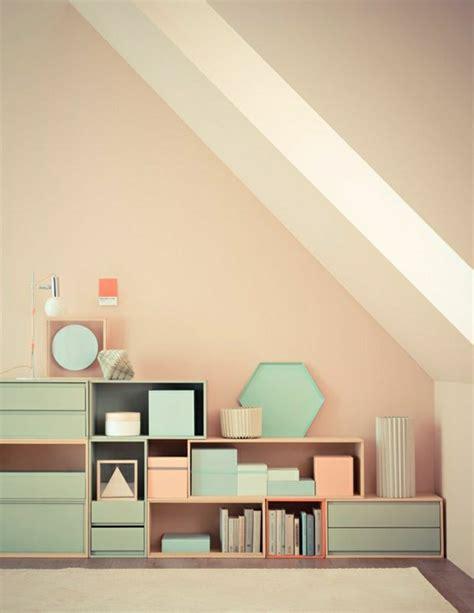 Pastellfarben Wand by Pastell Farbpalette Bei Der Inneneinrichtung 47 Ideen