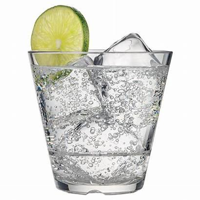 Rocks Caliber Soda Glass Water Oz Plain