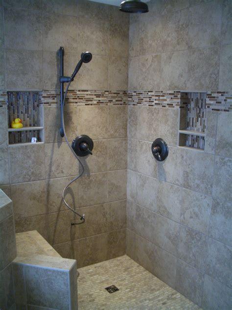 bathroom tiled showers ideas kerdi master bathroom shower remodel in fort collins