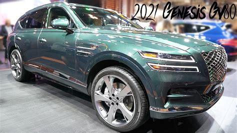 2021 Genesis Gv80 - Exterior and Interior Walkaround - YouTube