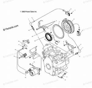 Polaris Side By Side 2004 Oem Parts Diagram For Electric