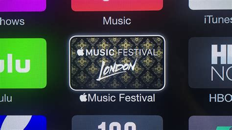 Apple Tv Adds New Apple Music Festival Channel Ahead Of