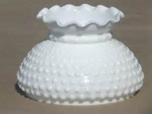 Hobnail Milk Glass Lamp Shade Replacement