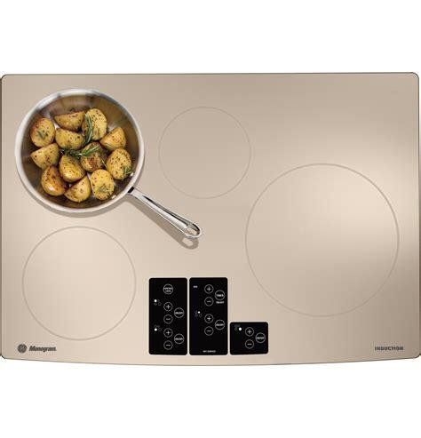 monogram  induction cooktop zhursrss ge appliances