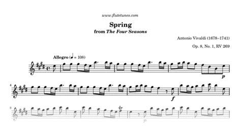 spring    seasons  vivaldi  flute