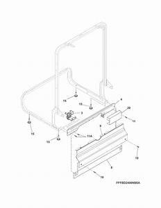 Looking For Frigidaire Model Ffbd2406nw7b Dishwasher