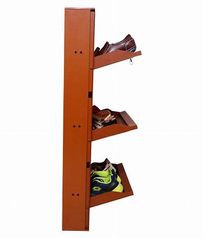 Shoe Wall Rack Mounted Clever Shelves Wide