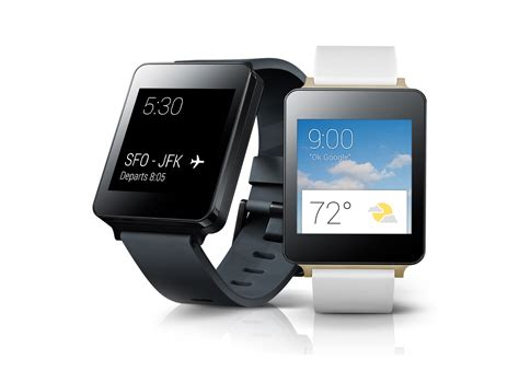 smartwatches for android announces android wear smartwatches