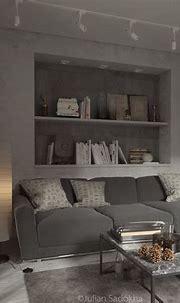 A Cool Grey Interior for a Free Spirit | Gray interior ...