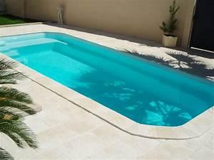 Margelle Piscine Grise : margelle de piscine droite domus roc de france ~ Melissatoandfro.com Idées de Décoration