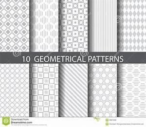 Tapete Geometrische Muster : 10 geometrische muster vektor abbildung bild von dekoration 46815692 ~ Sanjose-hotels-ca.com Haus und Dekorationen