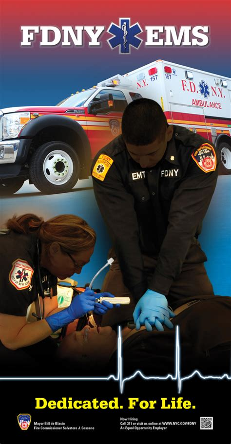 fdny unveils citywide posters celebrating ems week