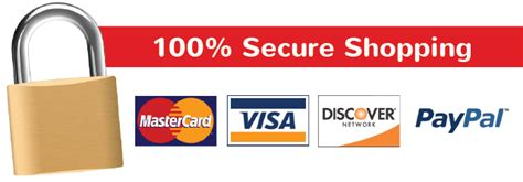 secure shopping Banner