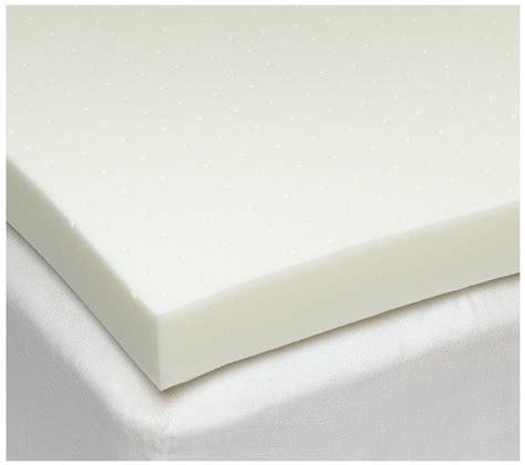 foam mattress pad the sleep 4 inch ventilated memory foam mattress