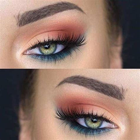 pretty eye makeup   green eyes fun makeup makeup   pretty eyes