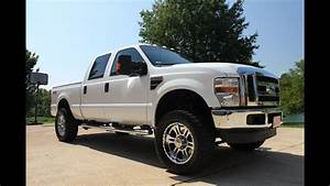 2008 Ford F250 Xlt Lifted 4x4 Diesel Crew Cab For Sale See
