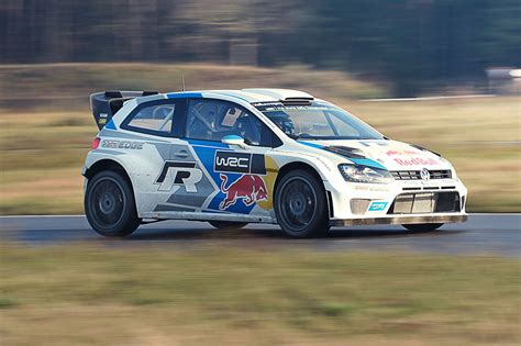 Car Vs The World's Best Rally Car Driving The Vw Polo Wrc