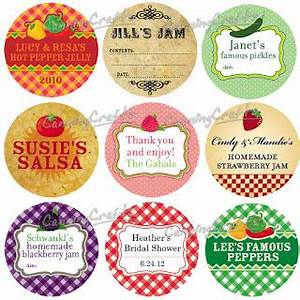 colorful adhesive canning jar labels august 2012 With custom sticker labels for jars