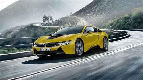 I8 Coupe 4k Wallpapers by 2017 Bmw I8 Frozen Yellow Edition 4k Wallpapers Hd