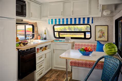 trailer chic strathmere nj eclectic kitchen