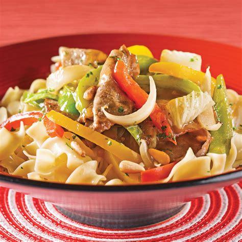 chou chinois cuisine sauté de boeuf aux poivrons et chou chinois recettes