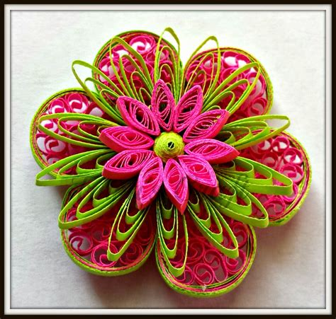truptis craft paper quilling flowers