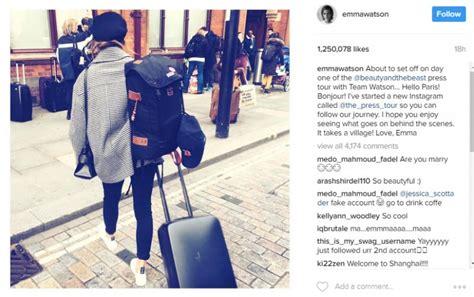 Emma Watson Starts New Instagram Account Promote Eco