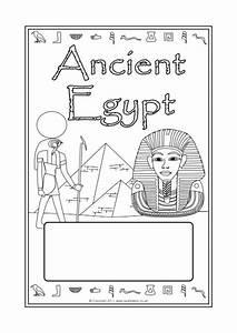 Titel Page Egyptians A4 Page Borders Sb6878 Sparklebox