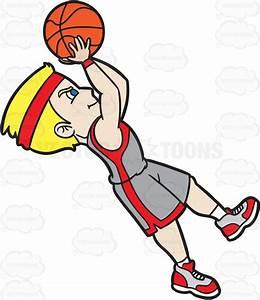 Man Shooting Basketball Clipart - ClipartXtras