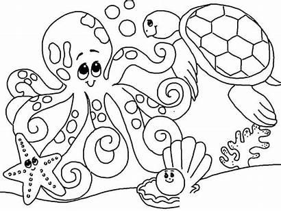 Coloring Pages June Ocean Scribblefun Oceans