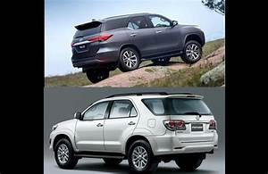 2016 Toyota Fortuner Vs Old Fortuner  Comparison Report