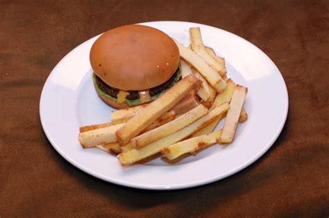 how to make a hamburger burger and fries recipe dishmaps