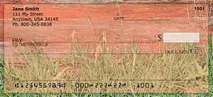 behine the barn personal checks With barn checks