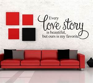 removable wall vinyl quote words letter sticker art mural With wall decals letters removable
