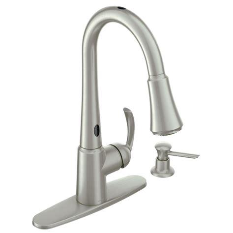 motion sensor kitchen faucet the most brilliant and interesting moen kitchen faucet motion sensor reviews for