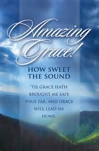amazing grace general worship 11 quot standard church bulletins press