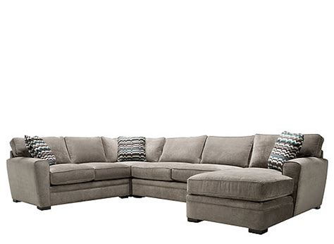 raymour and flanigan recliner sofa artemis ii 4 pc microfiber sectional sofa sectional