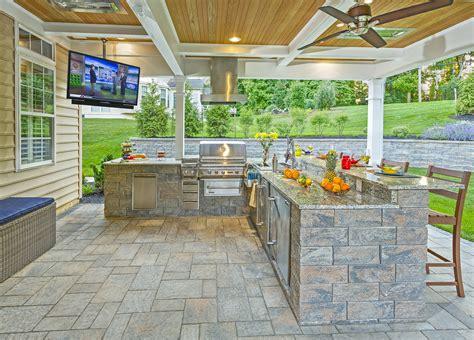 custom outdoor living space designers delaware outdoor