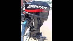 6m3943 Used 2001 Mercury 20m 20hp 2