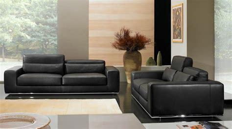 canapé cuir moderne salon canape moderne