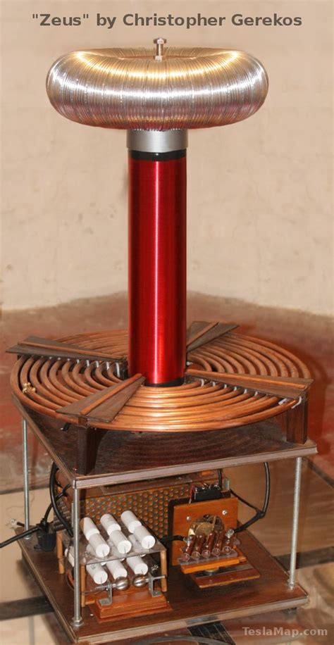 Tesla Coil Design Construction Operation Guide