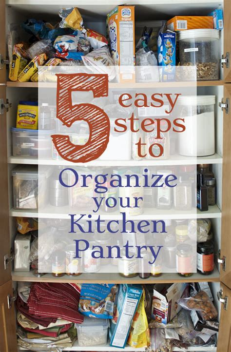 organize  kitchen pantry family spice