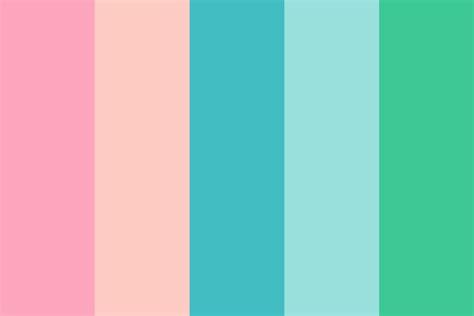 90s Dental Office Color Palette
