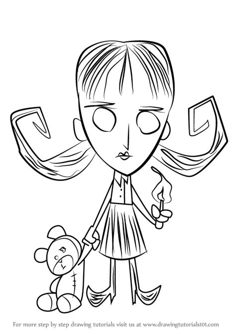 step  step   draw willow  dont starve