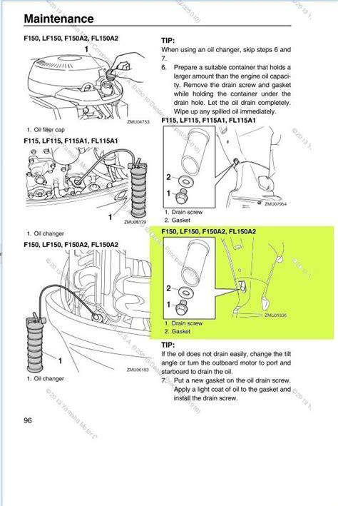 location  drain plug    yamaha  stroke