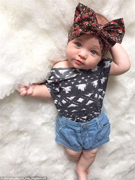 britains  stylish baby  month